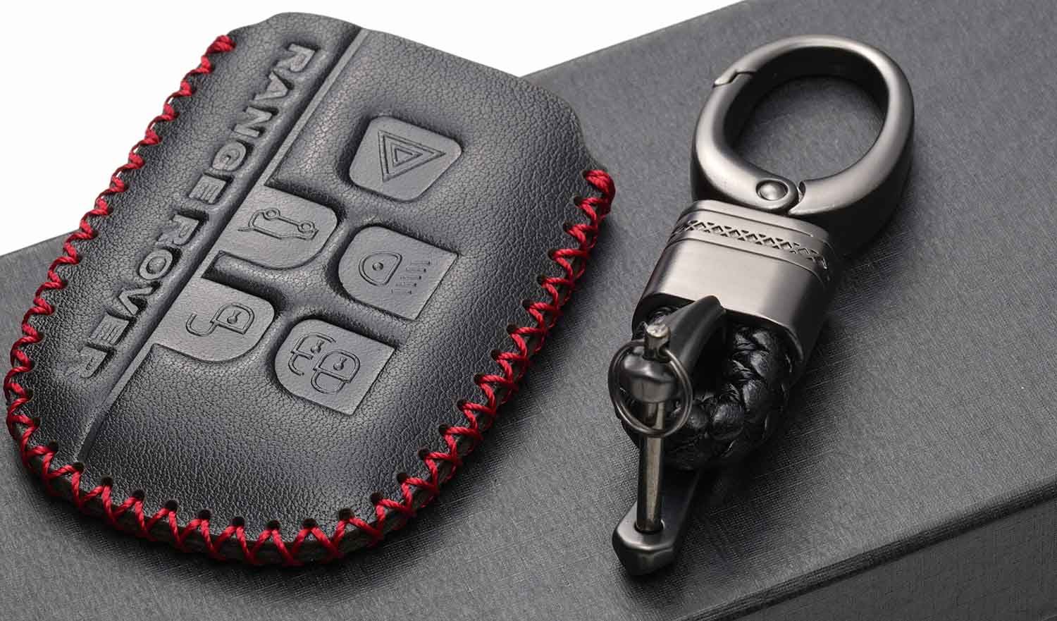 Brown Replacement Parts Vitodeco Genuine Leather Keyless